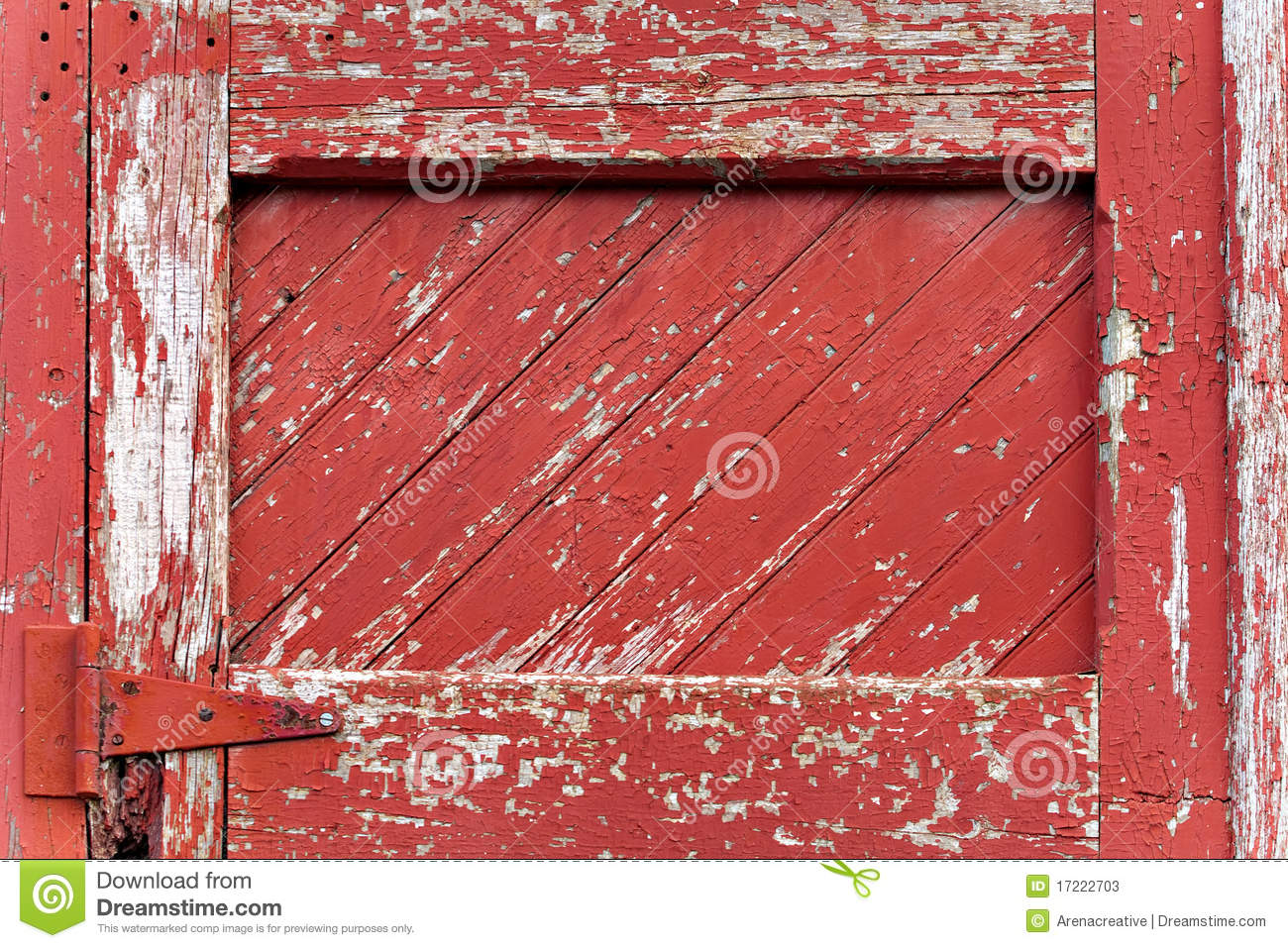 Red painted wood paneling stock image image of hinge 17222703 - Red exterior wood paint plan ...