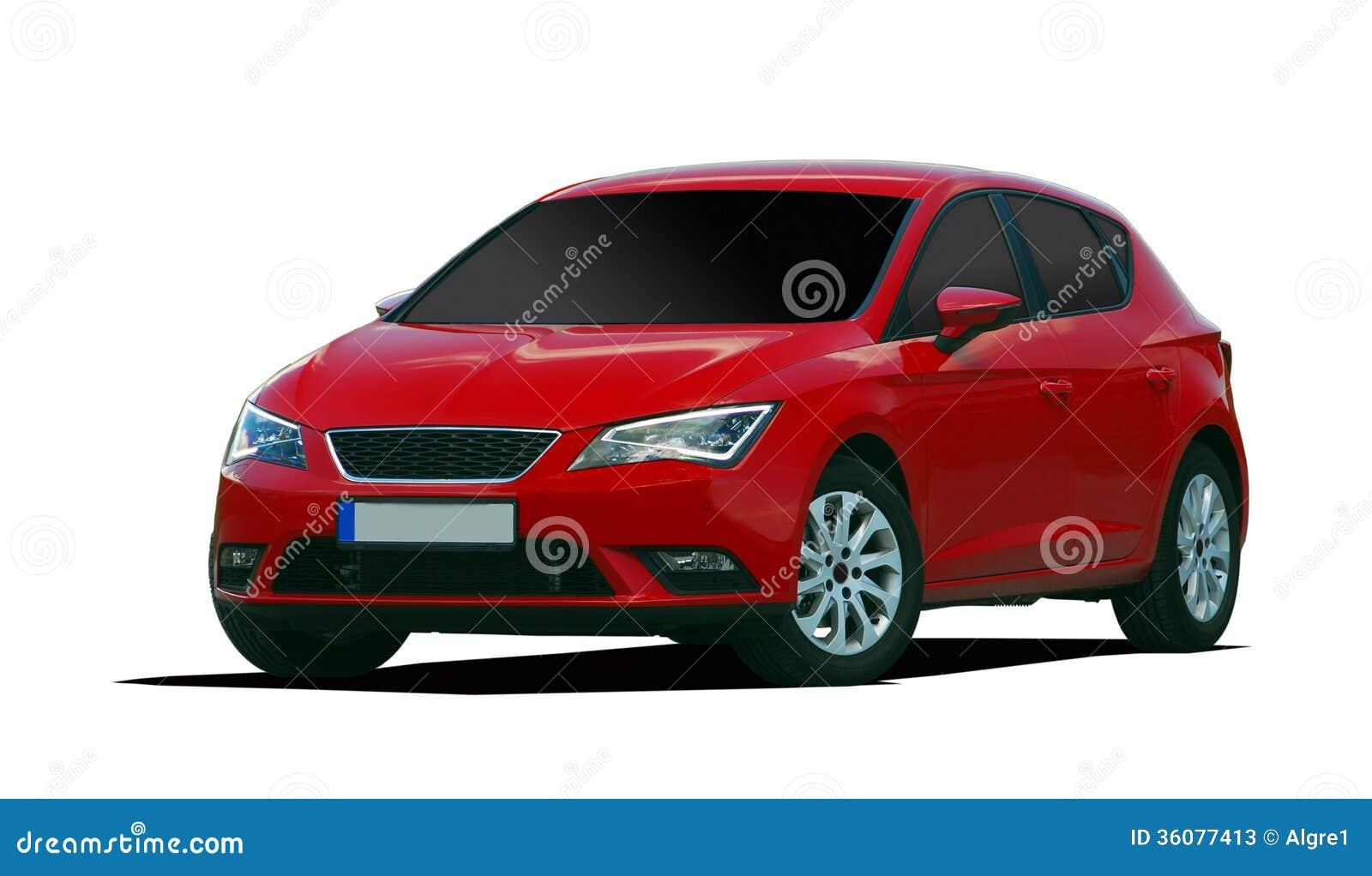 Red Passenger Car Stock Photos - Image: 36077413