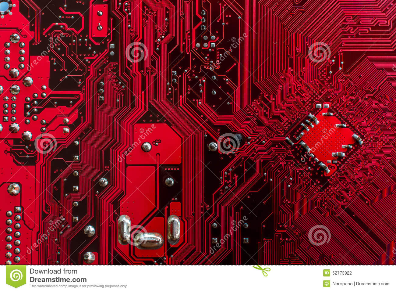 electronic red background wiring - photo #17