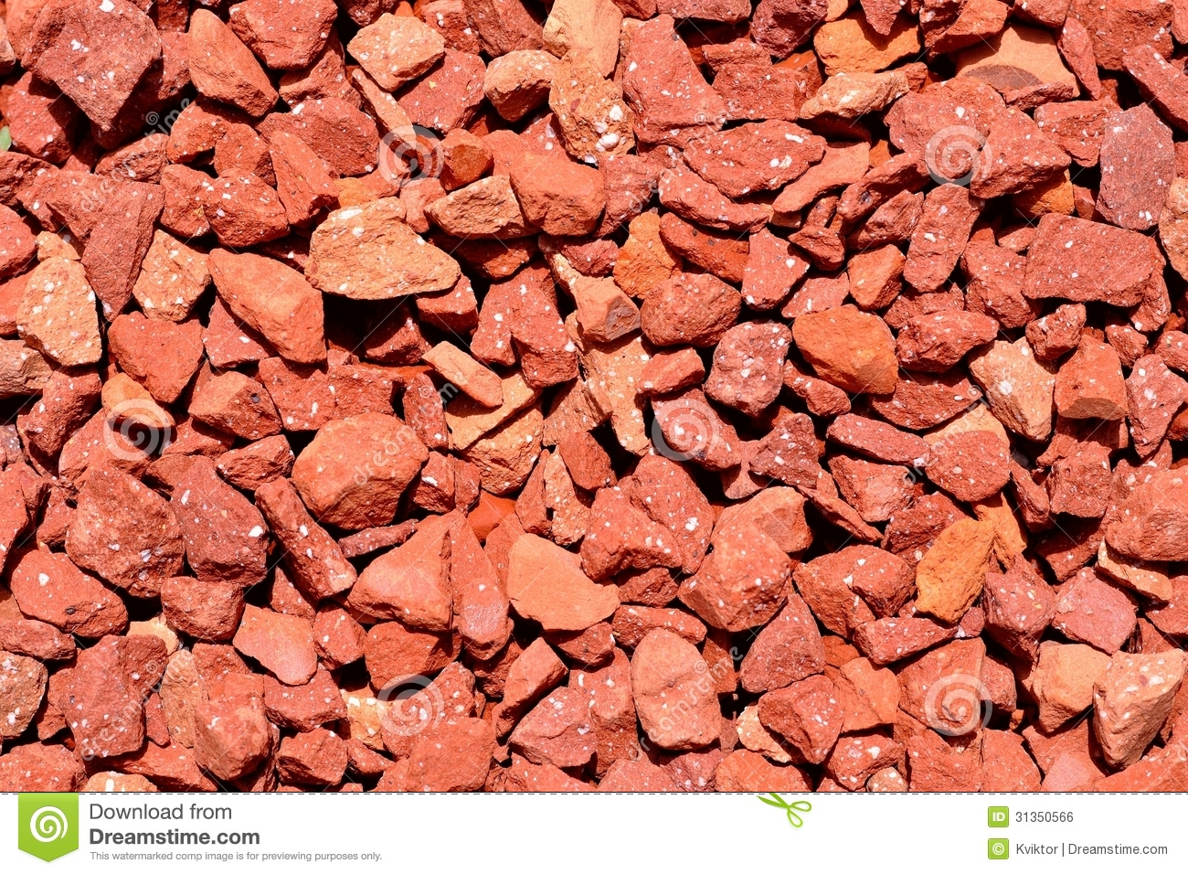 Red pebbles texture royalty free stock image image 31350566 for Small red rocks for landscaping