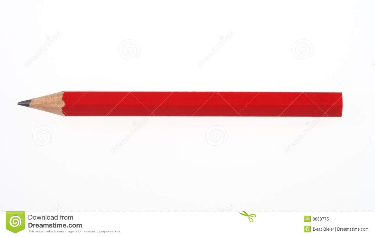Red Pencil Royalty Free Stock Photo - Image: 9068775