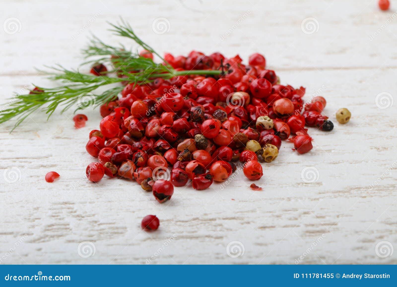 Red pepper corn
