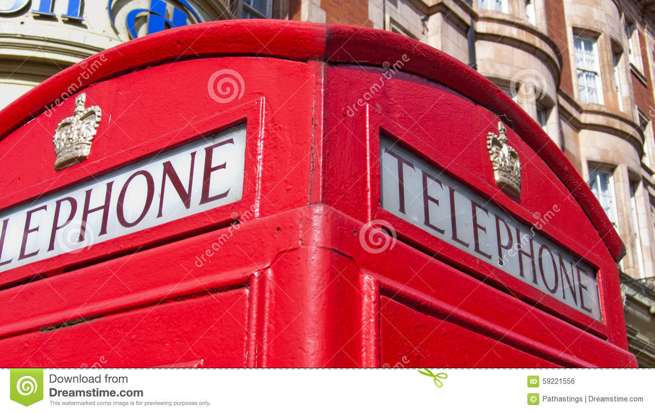 Box United Kingdom  City pictures : traditional red phone box in Queensway, London. United Kingdom.