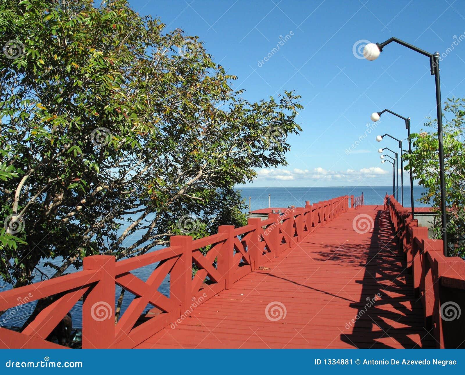 Red pier
