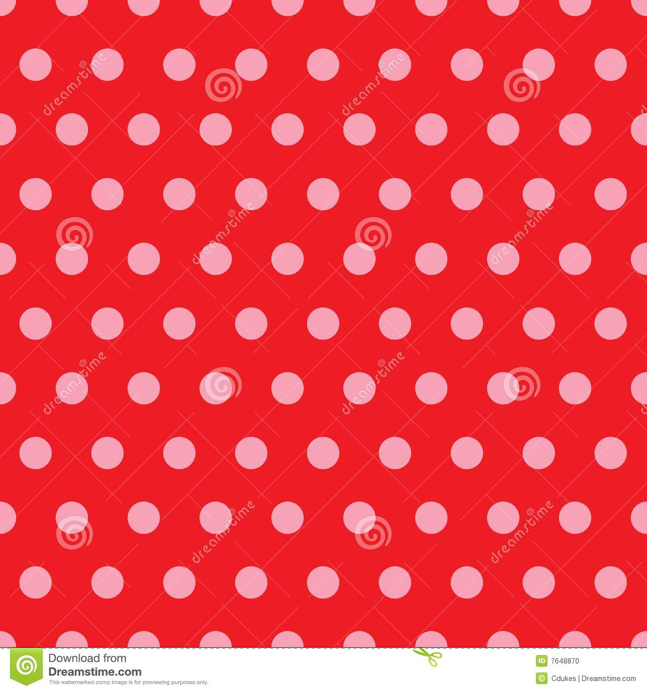 Red pink polka dot pattern stock photo image 7648870 for Red and white polka dot pattern