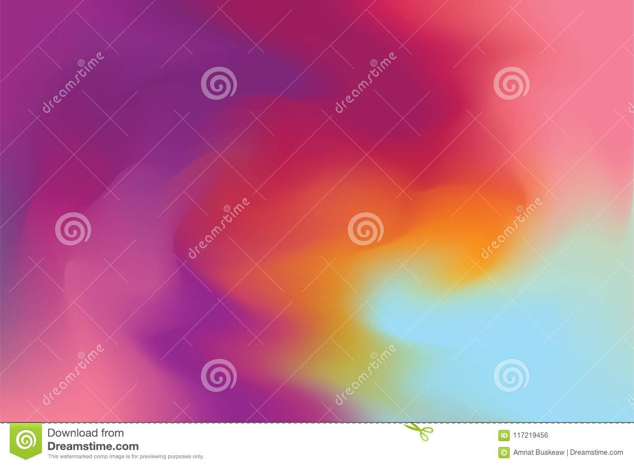 red pink yellow blue soft color mixed background painting art pastel