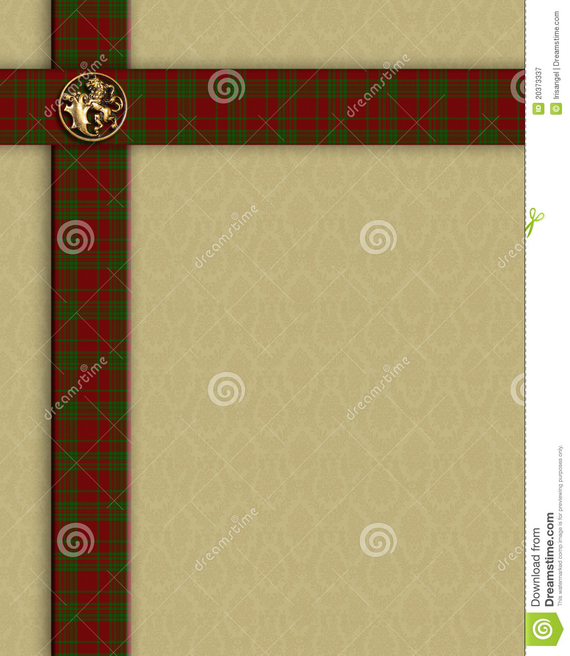 red plaid border template stock illustration  image of