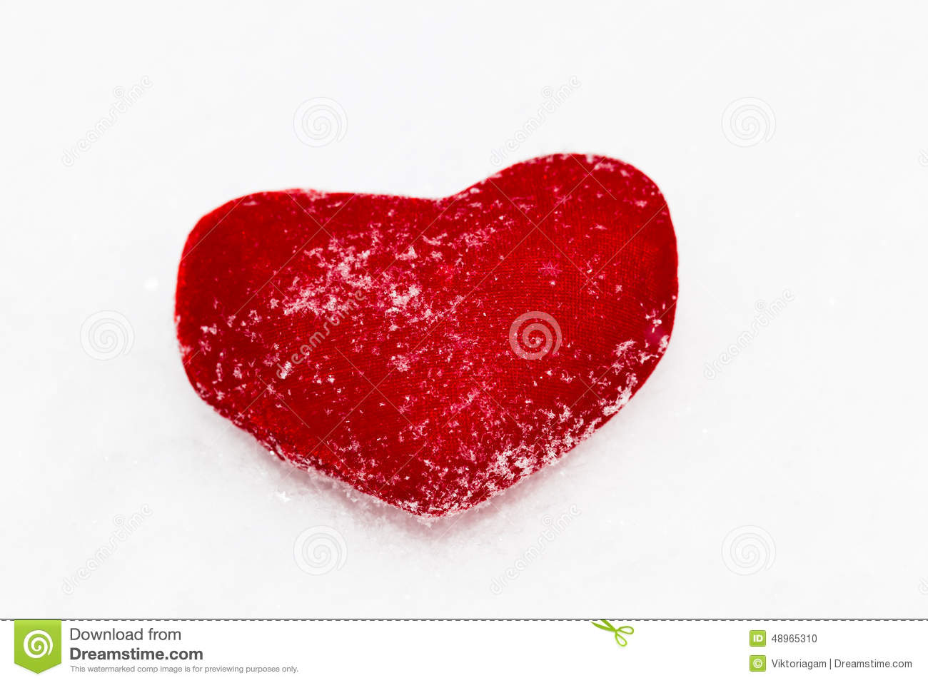 Red Plush Heart As A Symbol Of Love Valentines Name On A Backgr
