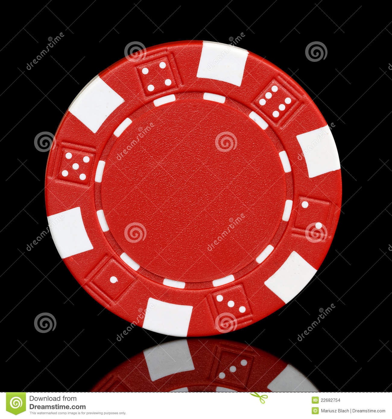As poker red