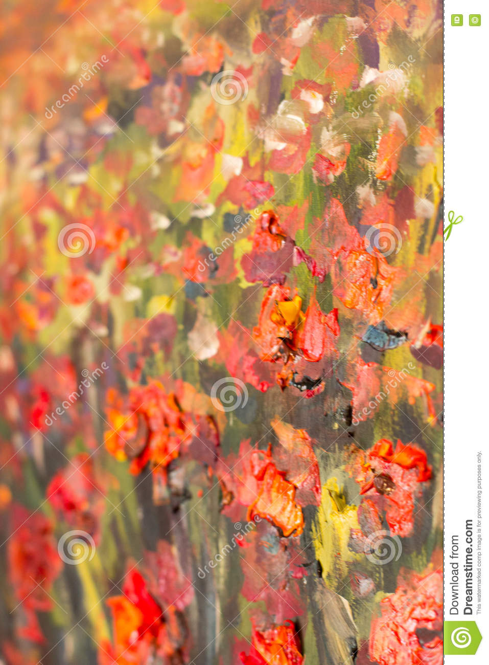 Red poppies flowers painting macro close up fragment stock red poppies flowers painting macro close up fragment mightylinksfo