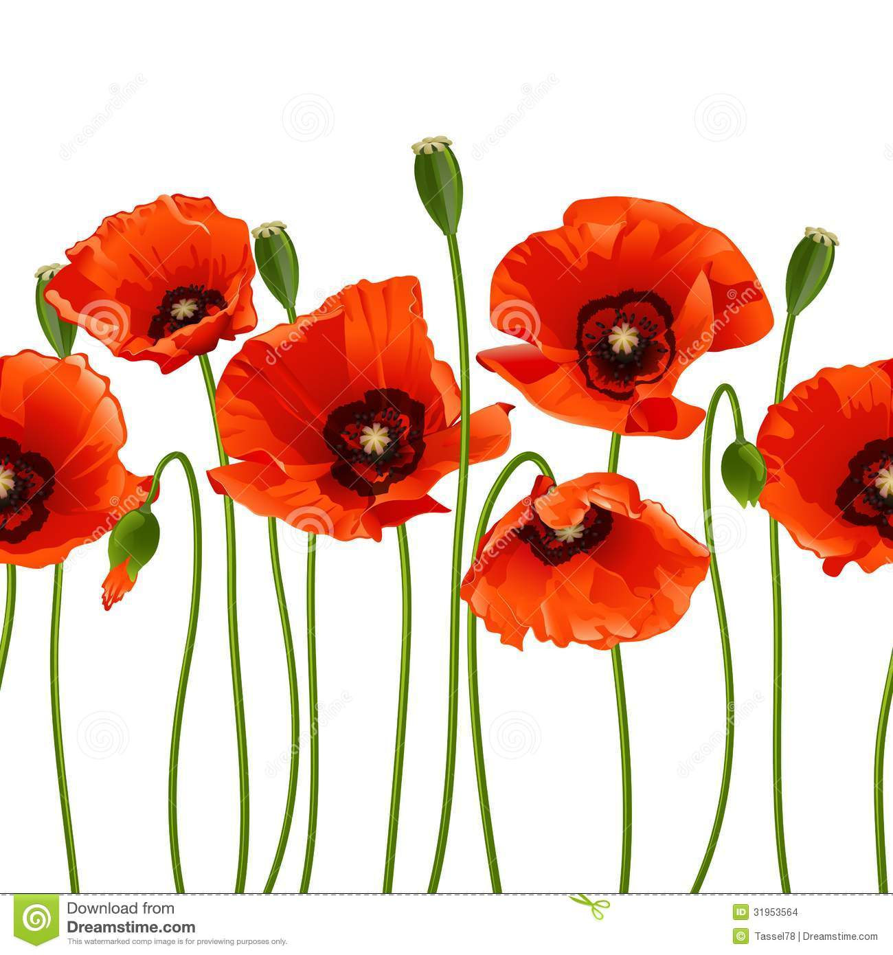poppy red background - photo #9