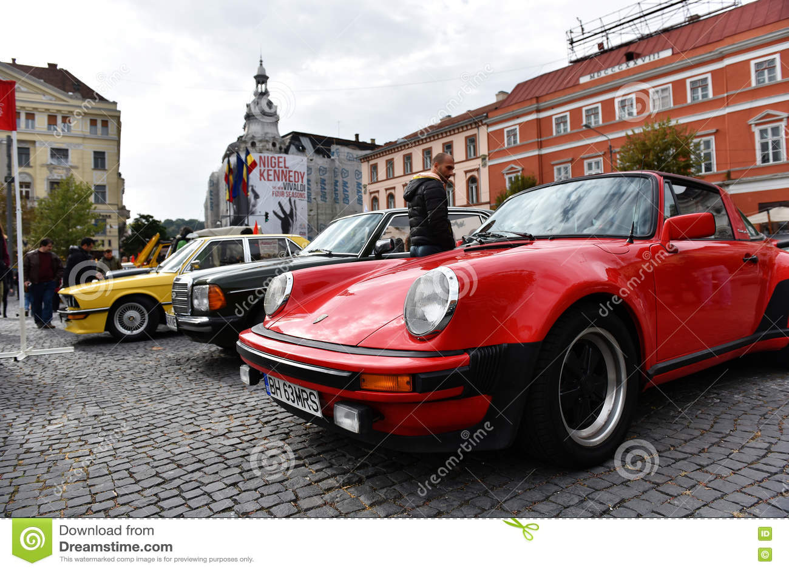 Red Porsche Vintage Car Editorial Image Image Of Retro 78826475