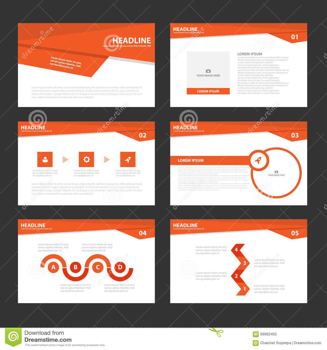 red presentation templates infographic elements flat design set red presentation templates infographic elements flat design set for brochure flyer leaflet marketing royalty stock