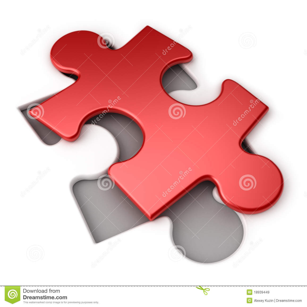 red puzzle royalty free stock images image 18939449