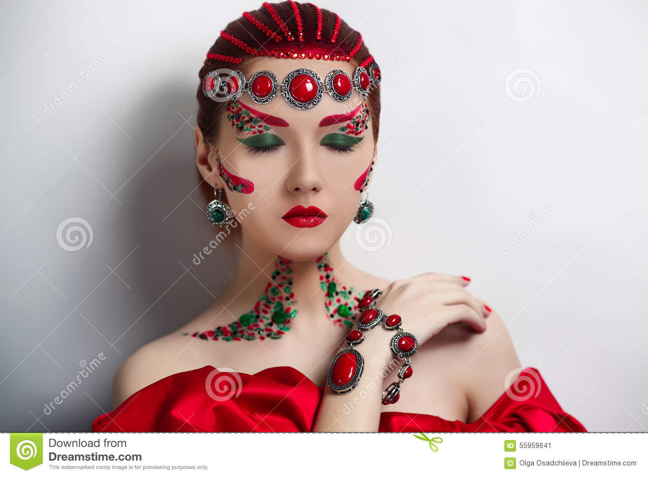 Red Queen Stock Photo Image 55959641