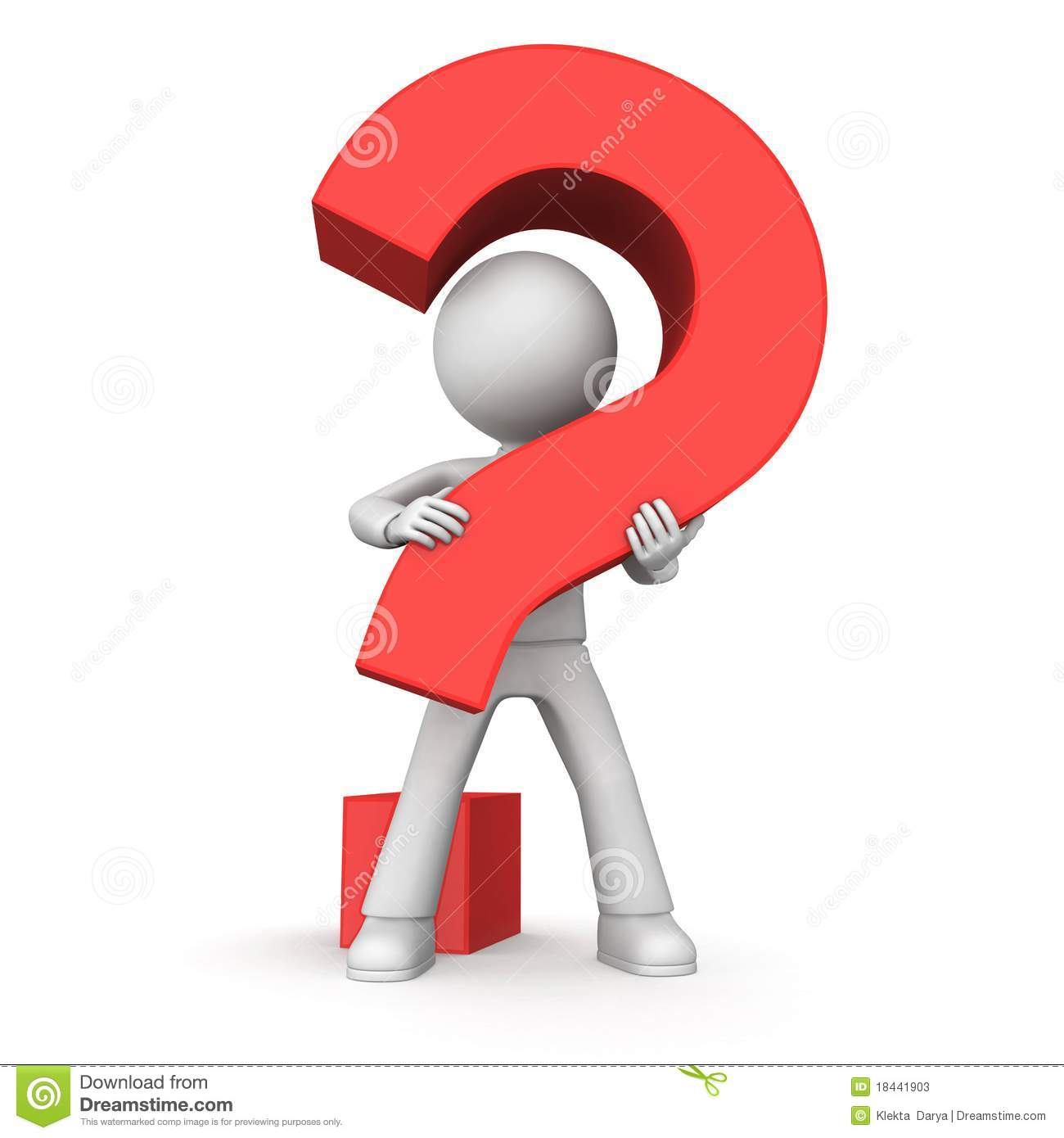 Red Question Stock Photos - Image: 18441903