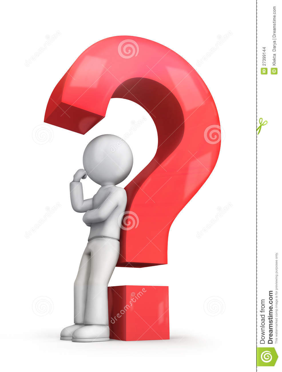 Red Question Mark Stock Images - Image: 27399144