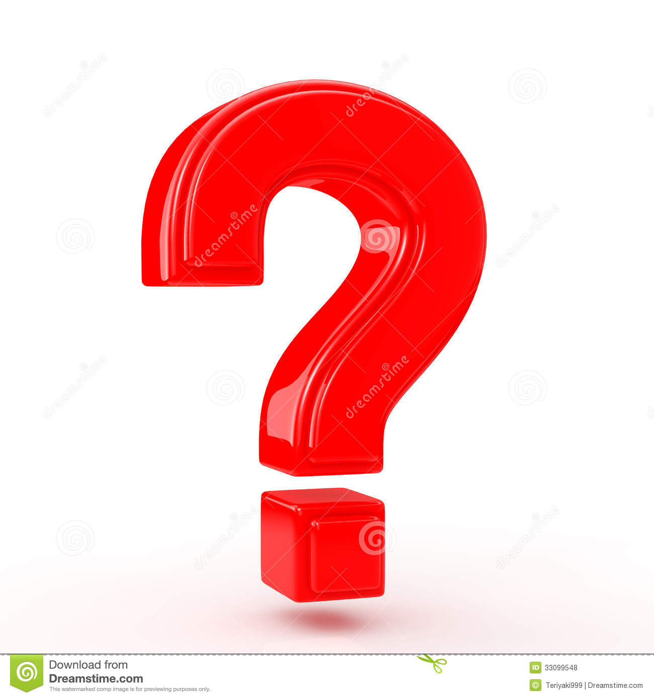 Red Question Mark Royalty Free Stock Photos - Image: 33099548