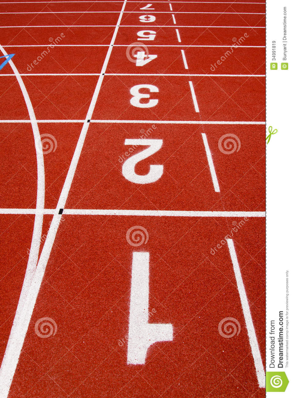 Red race for running