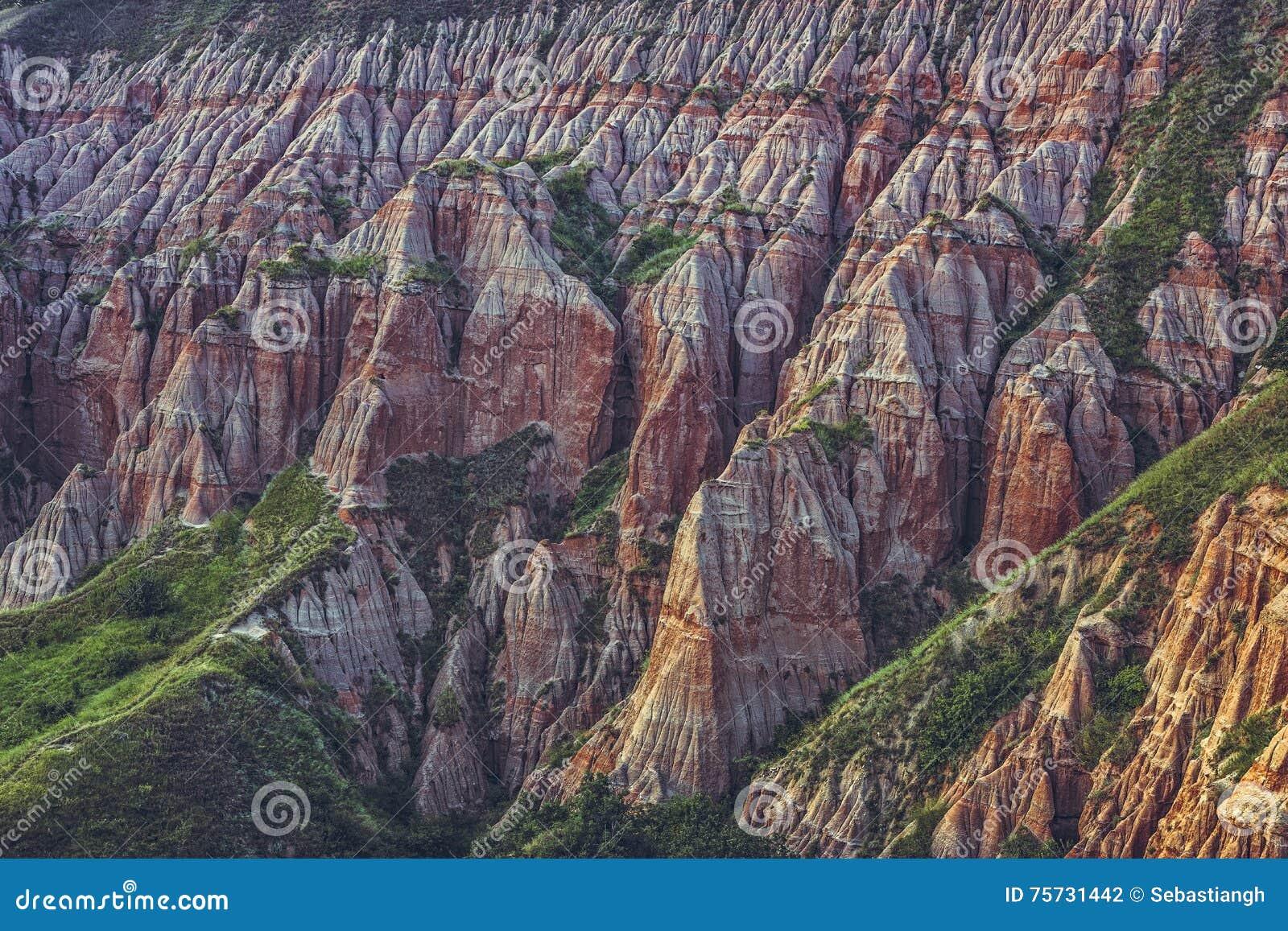 red ravine sebes romania stock photo image of majestic 75731442