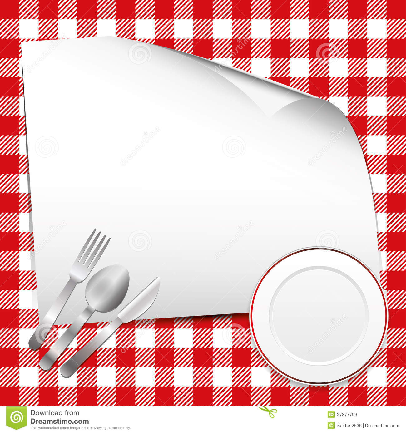 Red Restaurant Background Royalty Free Stock Images