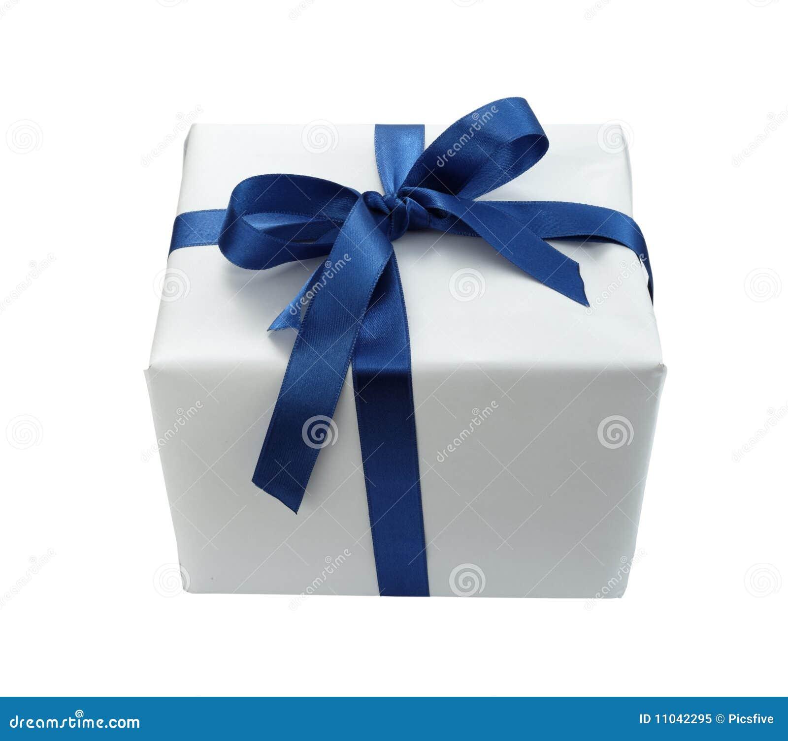 Red ribbon box present gift decoration