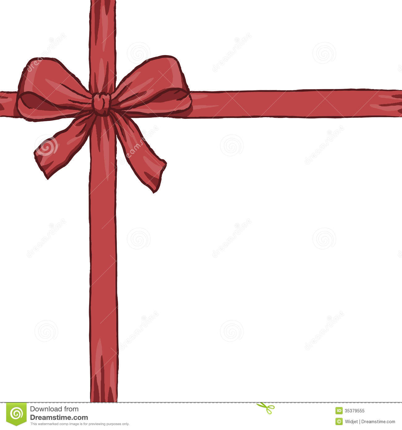 red ribbon crossed royalty stock photo image 35379555 red ribbon crossed