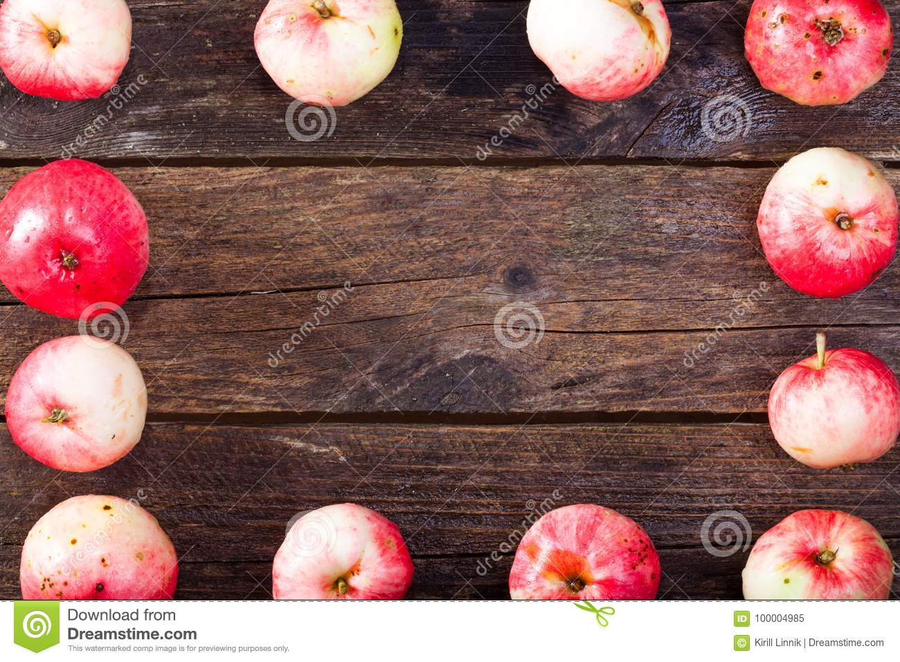 Download Red ripe apples stock image. Image of fresh, background - 100004985