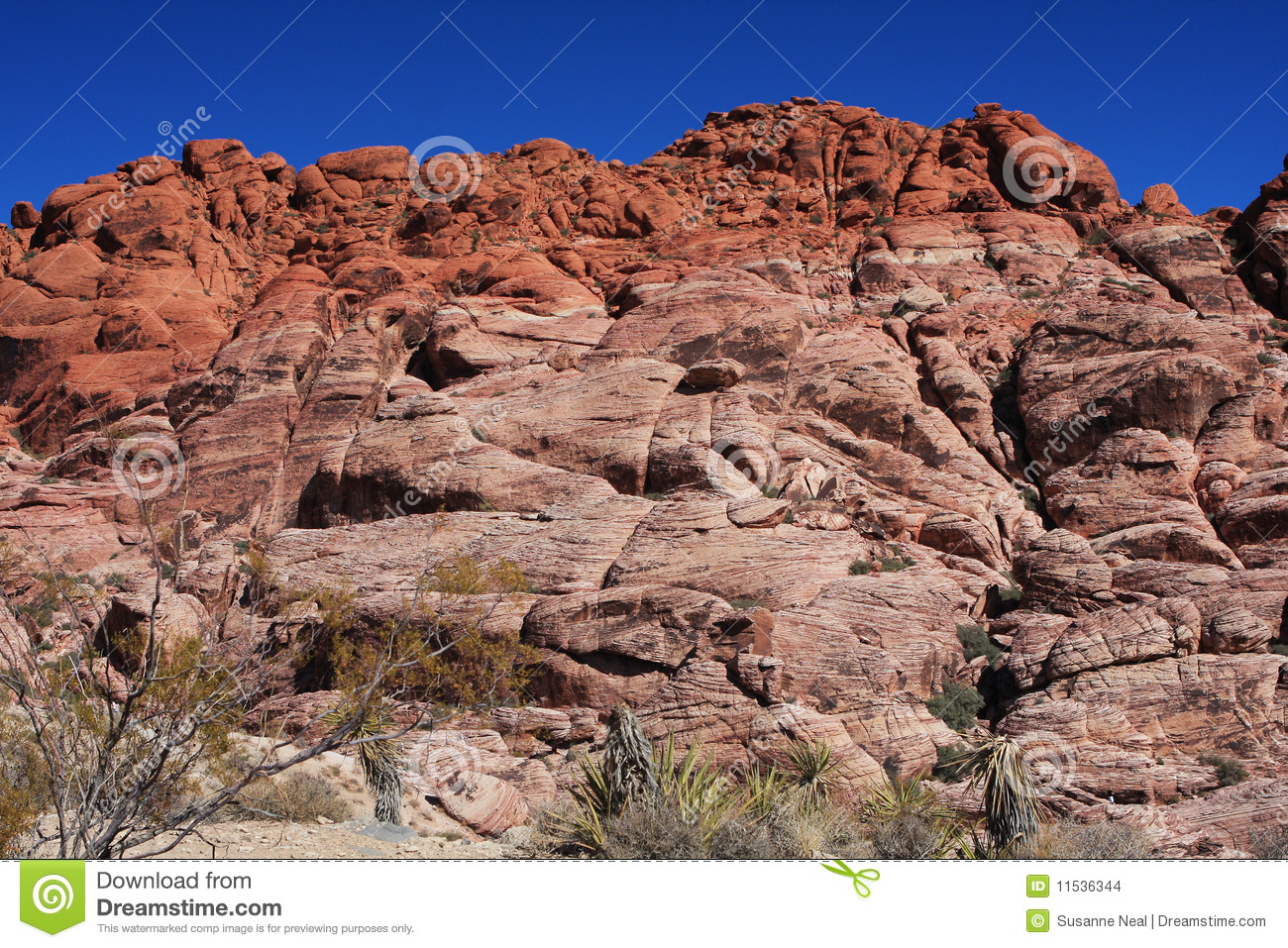 how to get to the colorful rocks in vegas