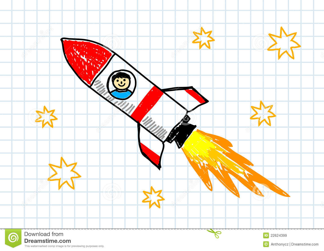 red rocket royalty free stock images image 22624399