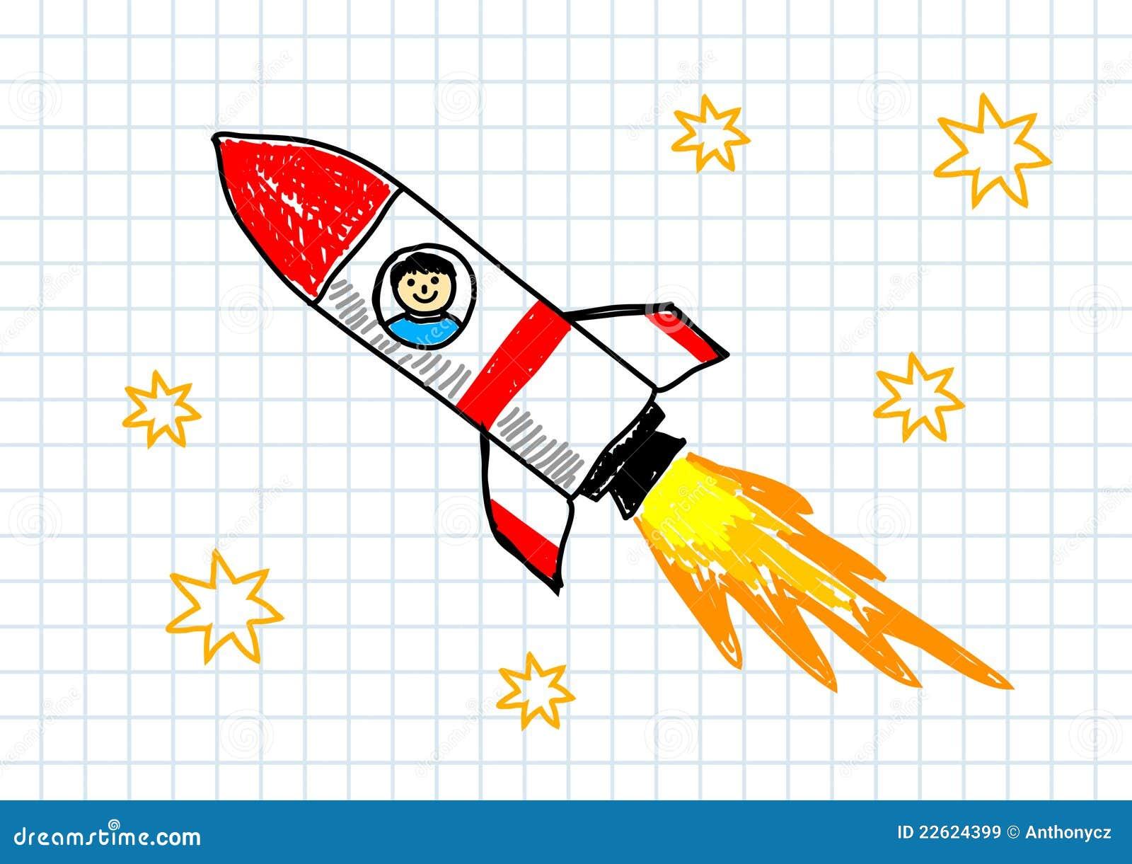 Открытки с ракетой своими руками