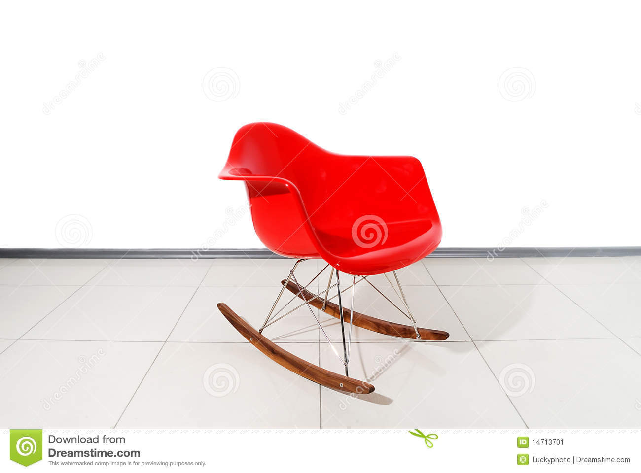 Red Rocking Chair Clipart ~ Red rocking chair stock image