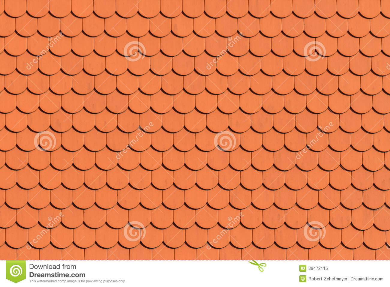 Red roof tile pattern royalty free stock photo image for Roof tile patterns