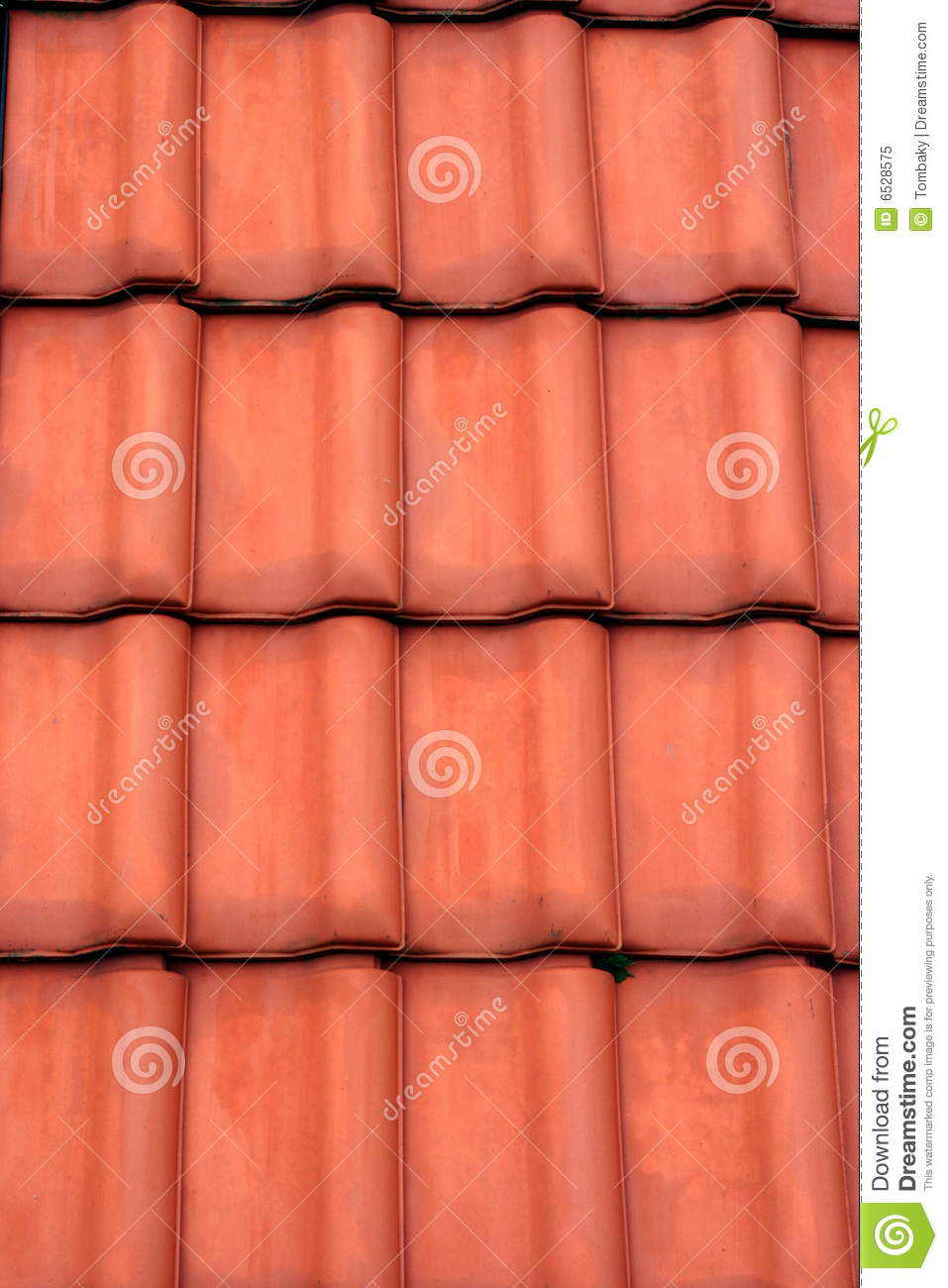 Red Roof Tiles Stock Image Image Of Tile Roof Detail