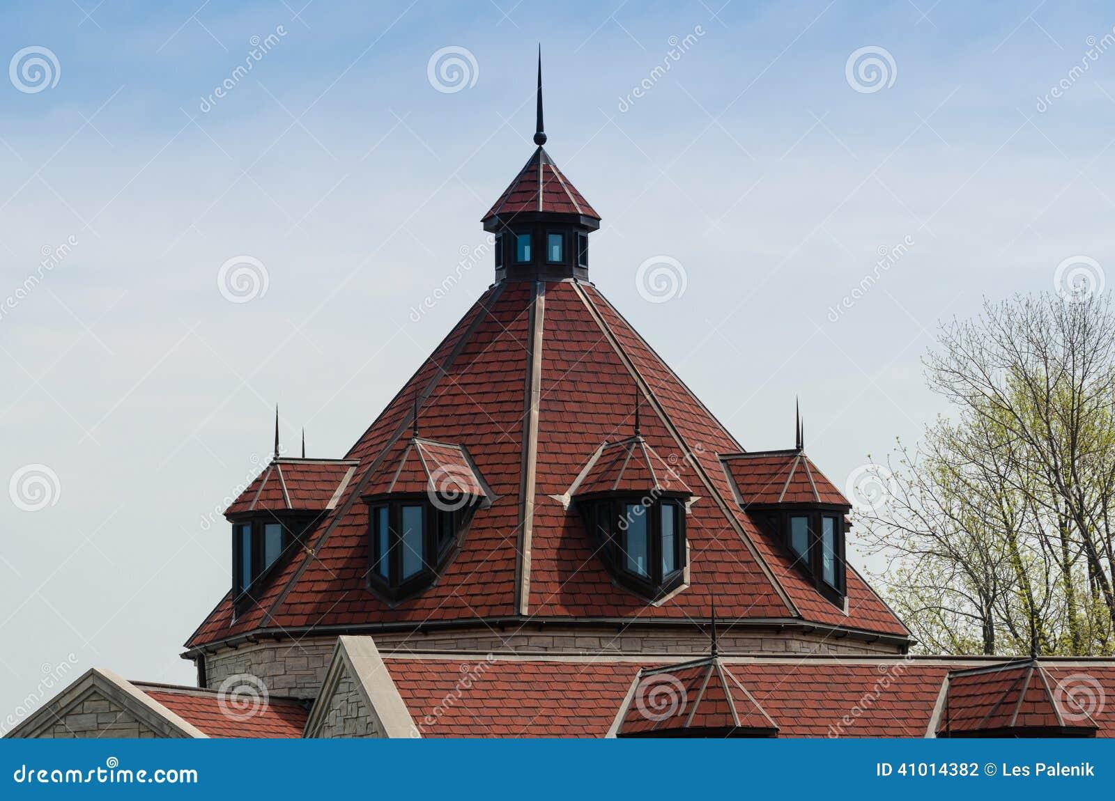 Оригинальная кровля и дизайнерские крыши : Стилизация кровли коттеджа под 5