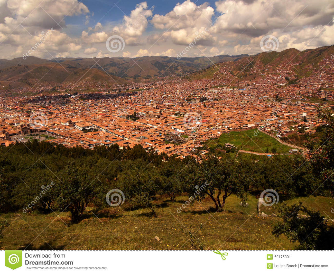 Red Roofs of Cusco