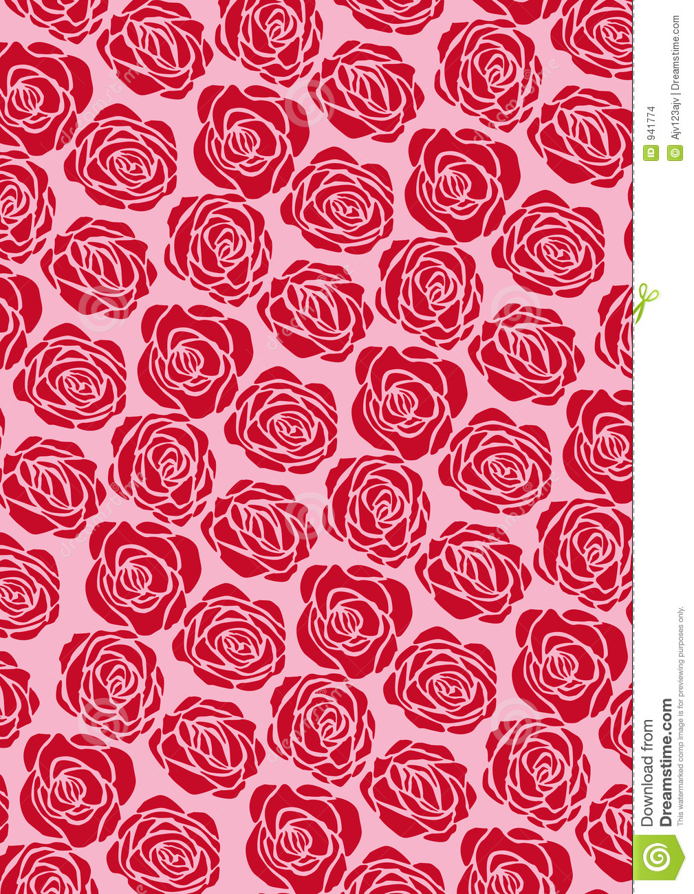 red flourish papel de - photo #11