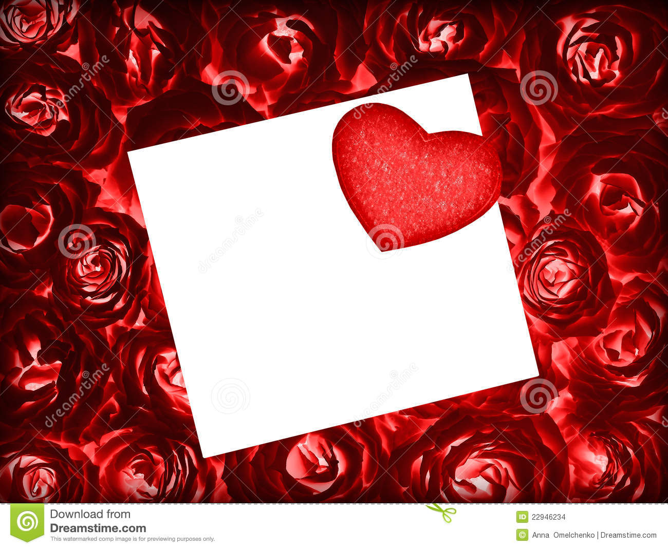 Red roses background with greeting card and heart stock photo red roses background with greeting card and heart kristyandbryce Gallery