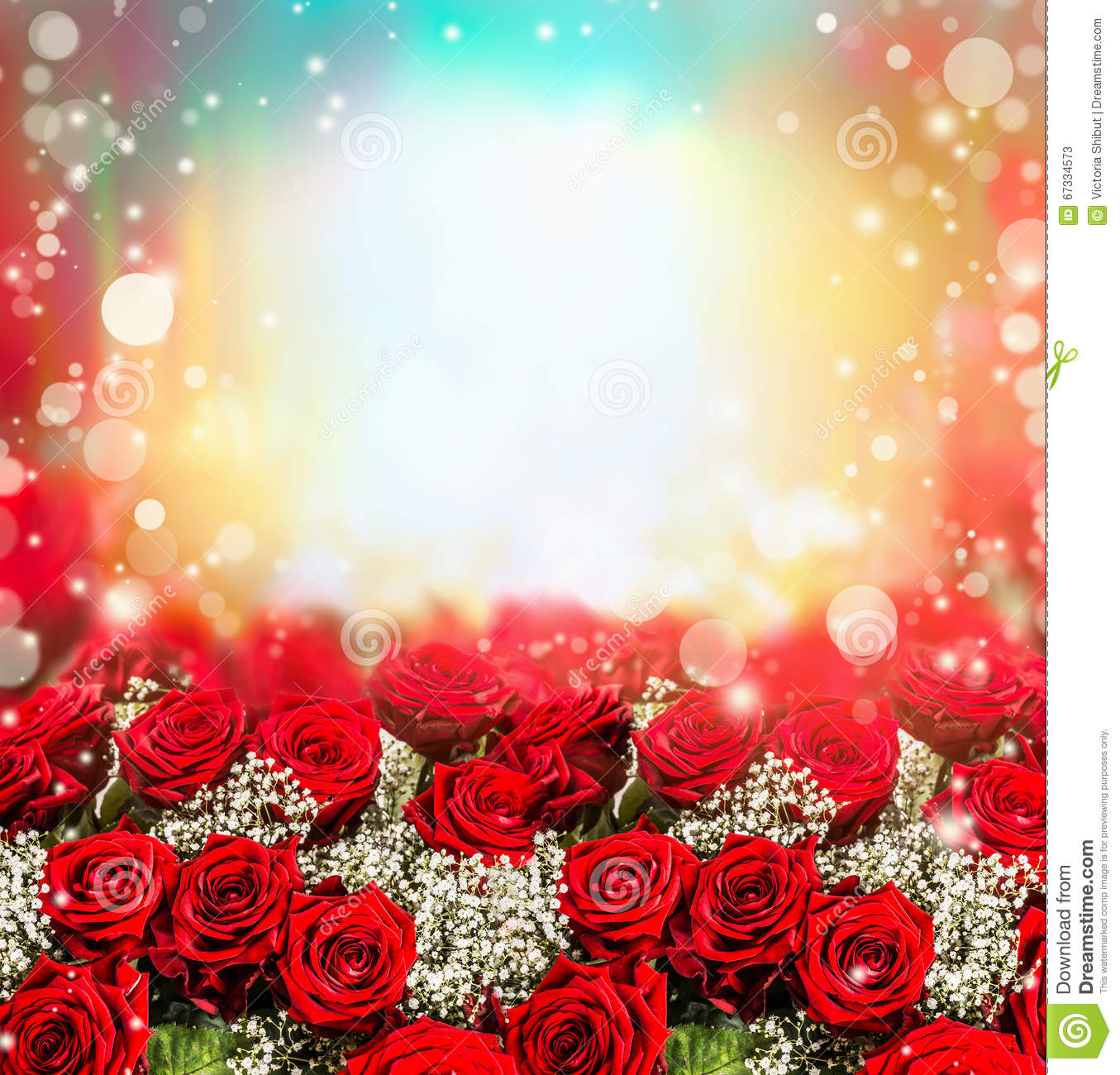 Royalty Free Stock Photo. Download Red Roses ...