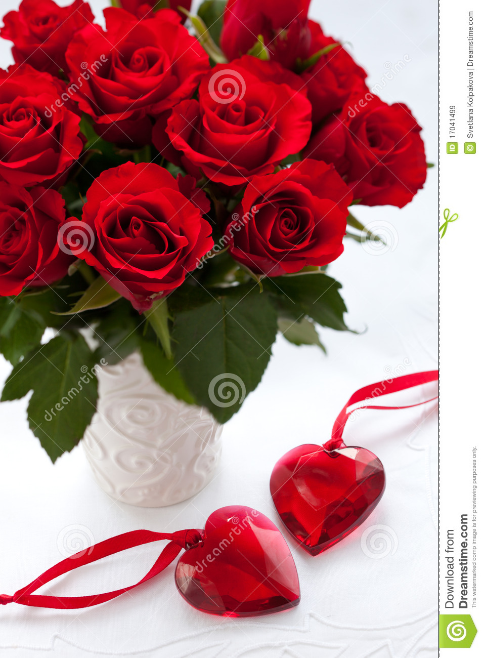 Red roses and hearts stock image image of bunch bloom - Pics of roses and hearts ...