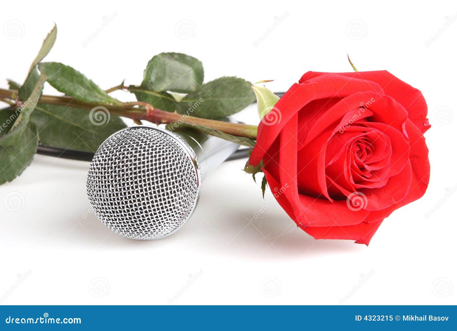 Thế giới Tình yêu - Page 4 Red-roses-microphone-4323215