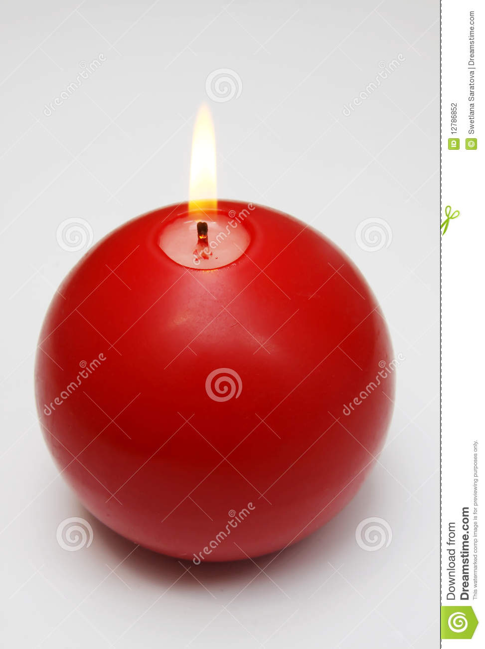 red candle white background - photo #35