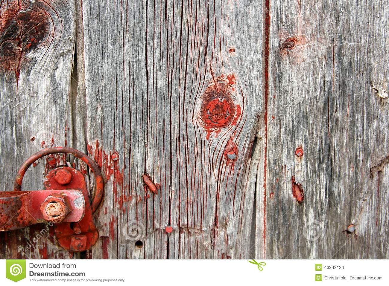 Red Barn Wood rustic red barnwood background stock photo - image: 43243890