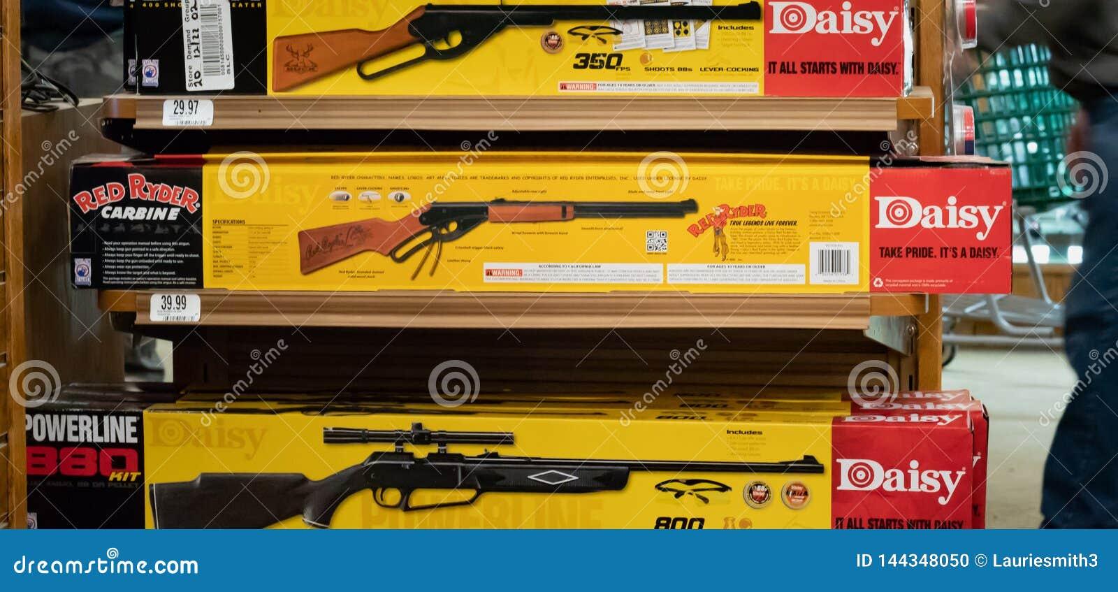 Red Ryder BB Gun / Editorial Illustrative