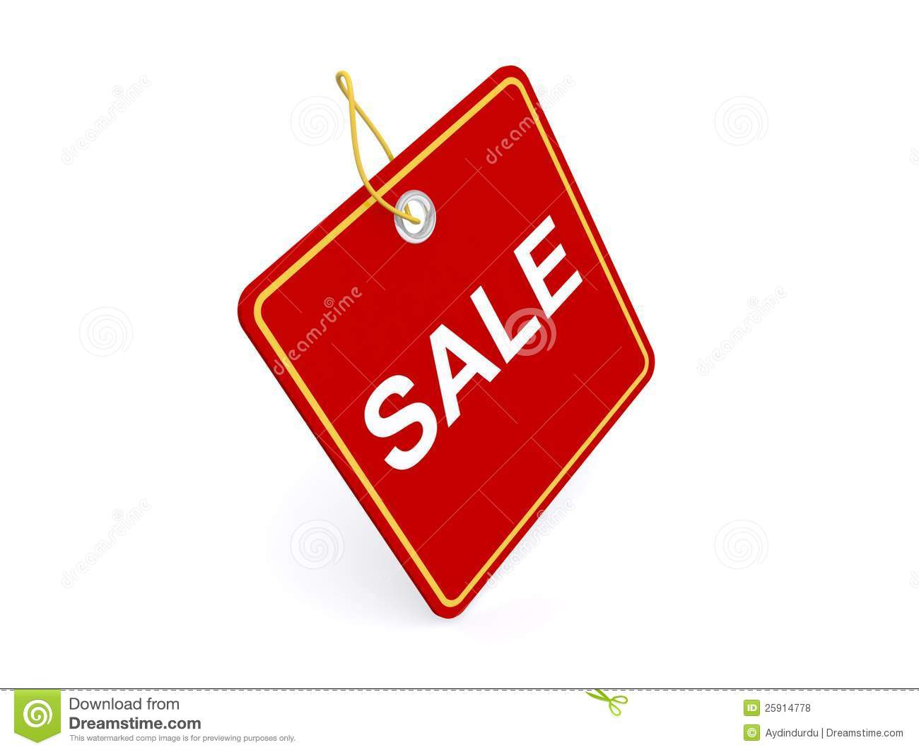 red sale sign royalty free stock photos