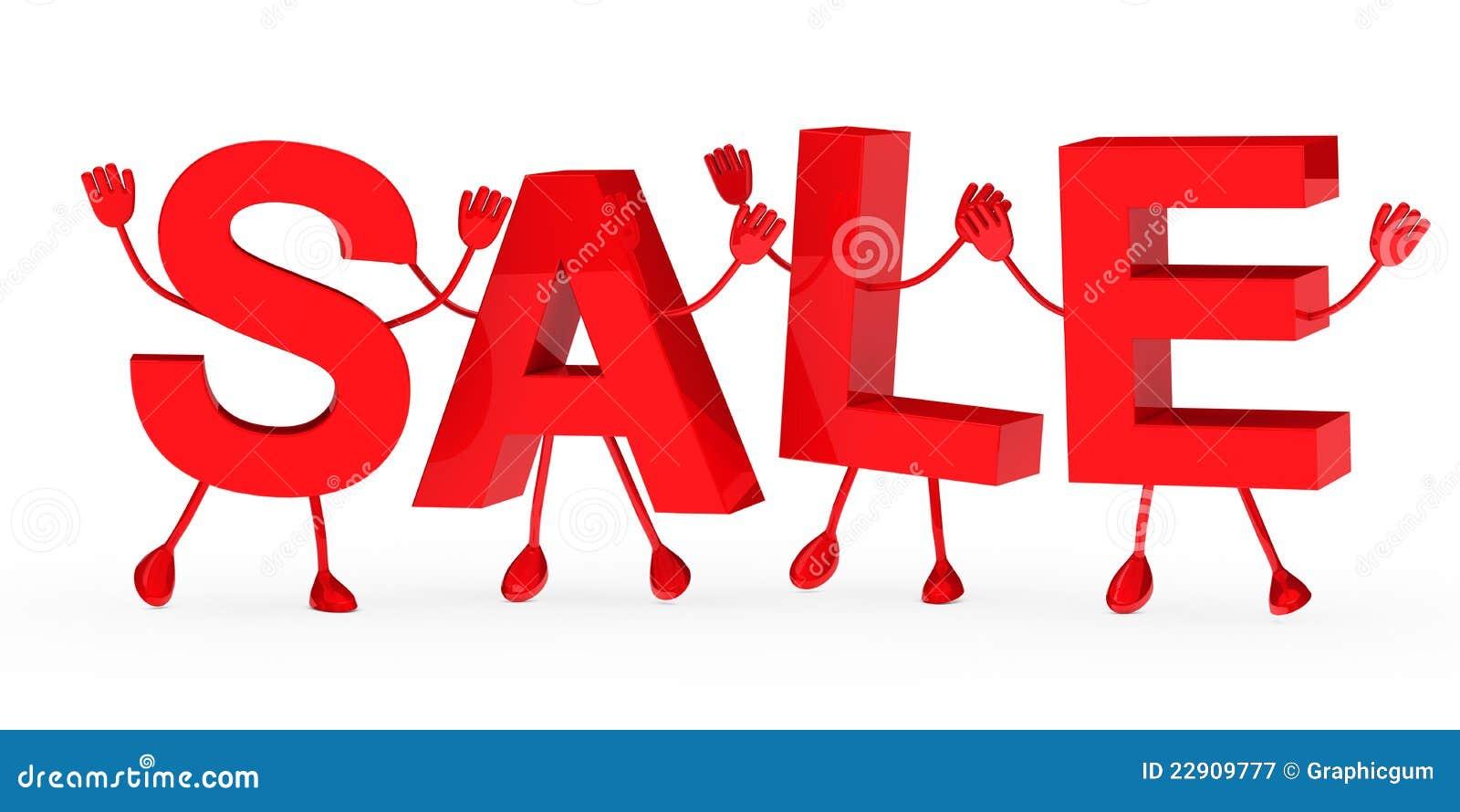 red sale word wave stock illustration illustration of merchandise
