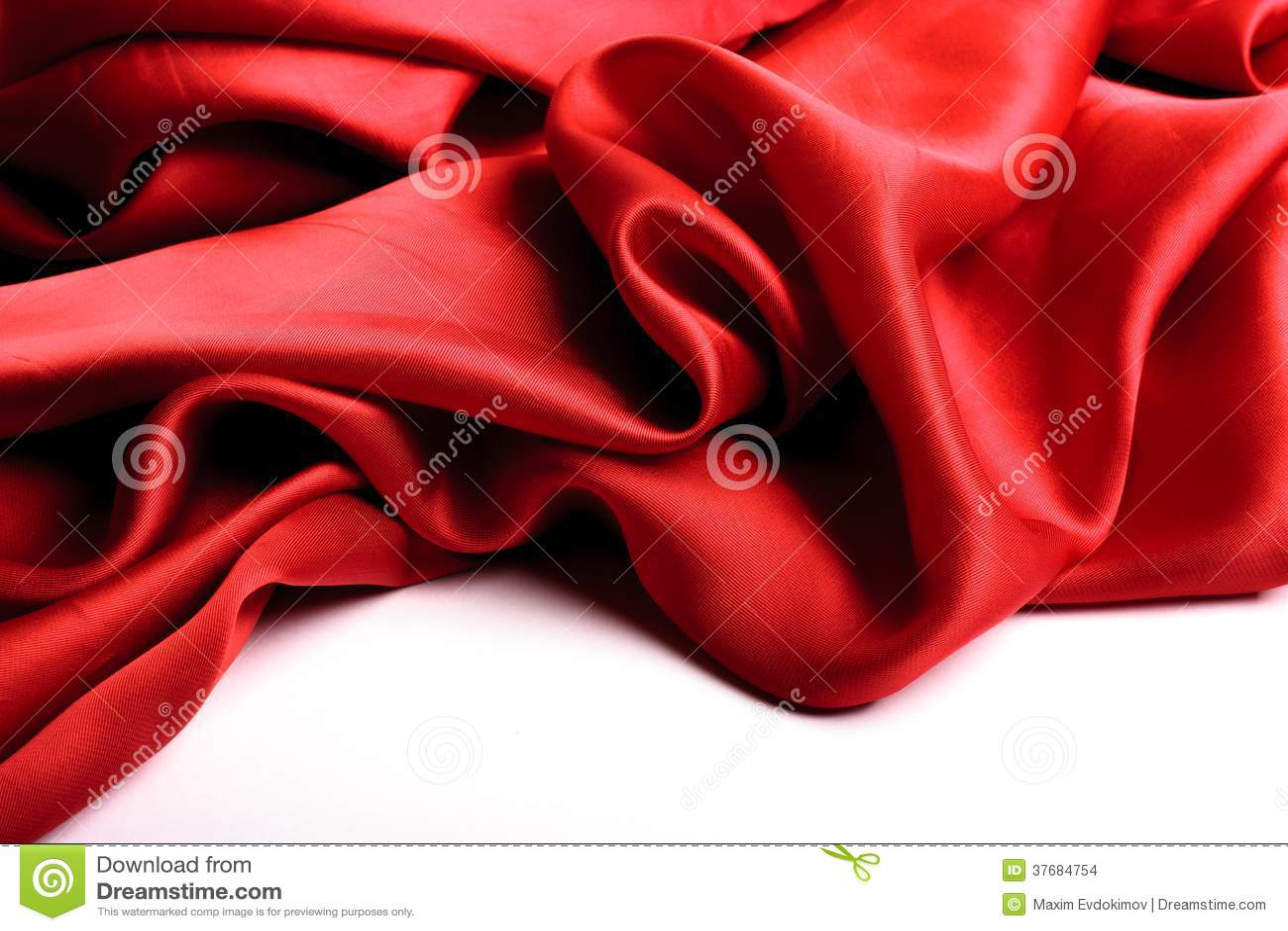 Red Satin Border