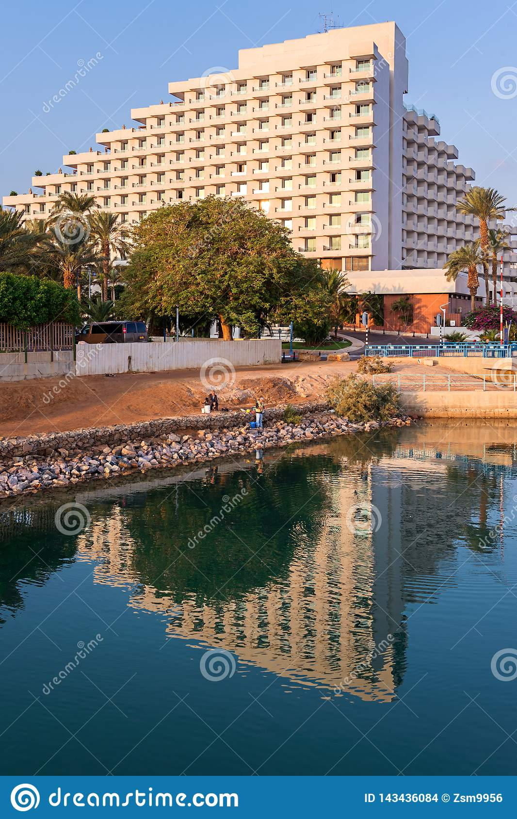 The Red sea, Eilat, fishing