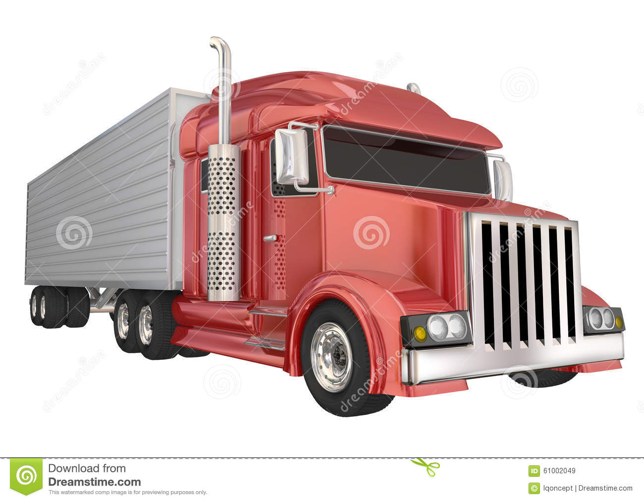how to drive a big rig truck