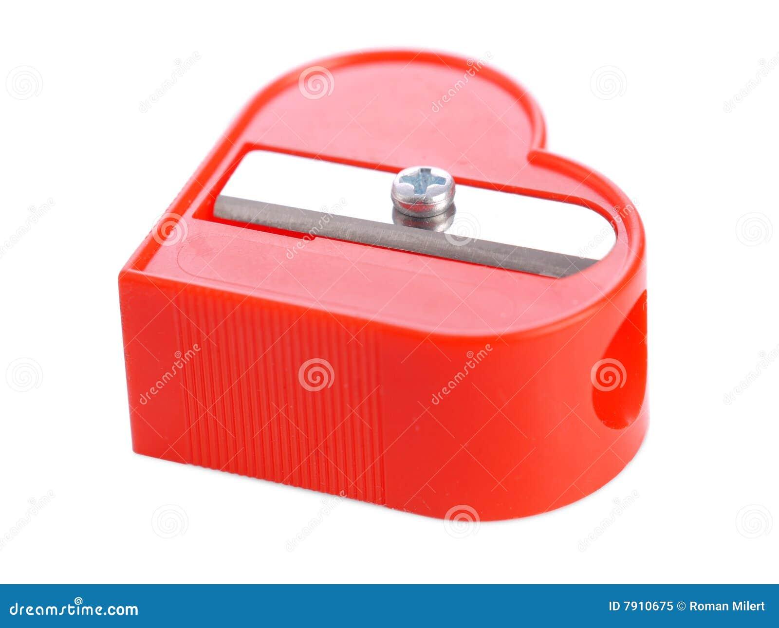 Red Sharpener Royalty Free Stock Photo Image 7910675